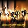 Set All dancing in the Wedding 01