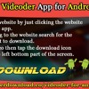 Download Videoder App For Android Devices