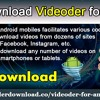 Download Videoder For Android