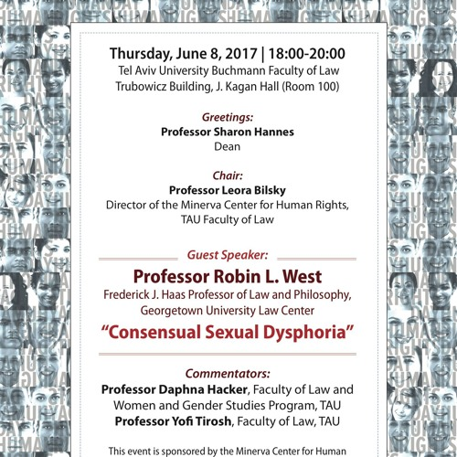 """Comment to Robin West's lecture """"Consensual Sexual Dysphoria"""""""