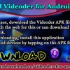 Download Videoder For Android Devices