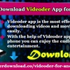 How To Download Videoder App For Android
