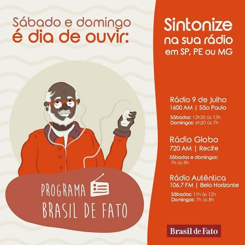 Ouça o Programa Brasil de Fato - Edição Pernambuco - 10/06/17