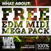 FREE EDM MIDI Mega Pack | 850+ WAV & MIDI Loops