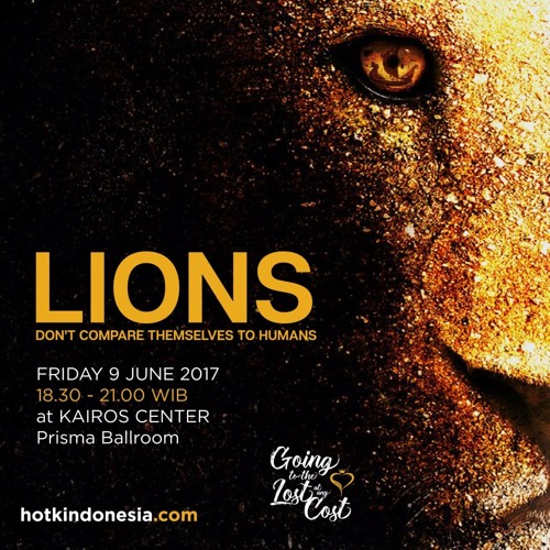 Lions Dont Compare Themselves To Humans June 9 2017 By Hotk