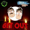 HELLO NEIGHBOR SONG (GET OUT)  DAGames