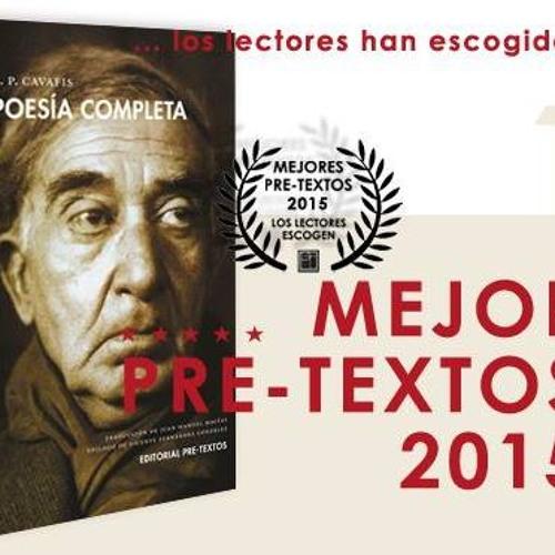 Entrevista de J. Antonio Martínez Muñoz sobre la Poesía completa de Cavafis