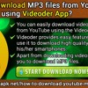 How To Download MP3 Files From YouTube Using Videoder App?.mp3