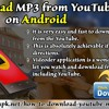 Download MP3 From YouTube On Android.mp3