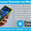 How To Download Videoder For Windows phone