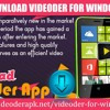 How To Download Videoder For Windows Phones
