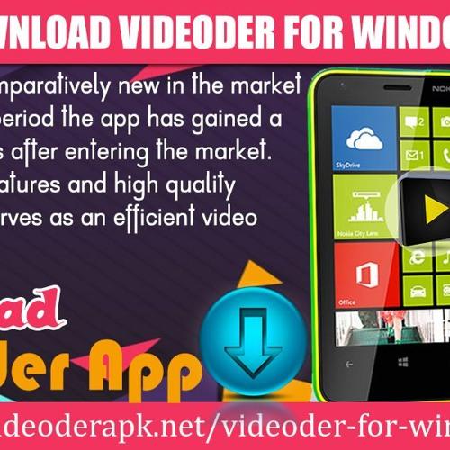 How To Download Videoder For Windows Phones by videoderapk