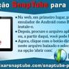 Aplicação SnapTube para Mac PC.mp3