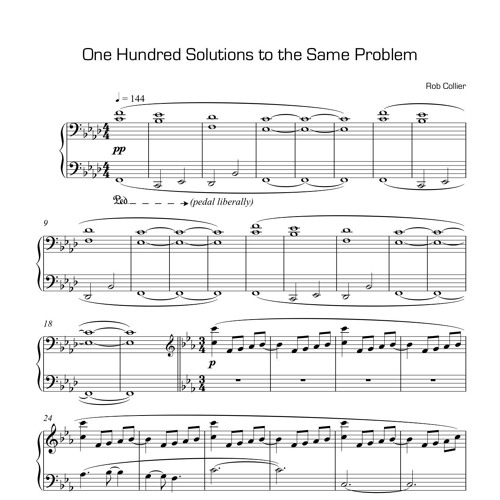 One Hundred Solutions To The Same Problem
