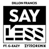 Dillon Fracis - Say Less (Ft. G-Eazy)[ZYRRO Remix]