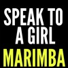 Speak To A Girl Marimba Ringtone - Tim McGraw Feat. Faith Gill