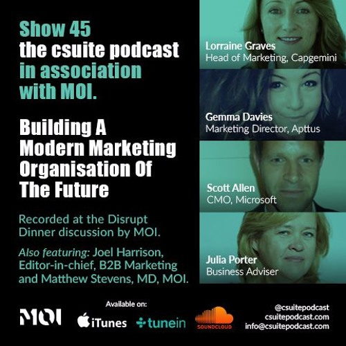 Show 45 - Building a Modern Marketing Organisation of The Future