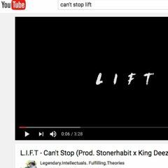 King Deezy x B-Leaf x K-Two - Can't Stop ( Prod. by Stonerhabit x King Deezy)