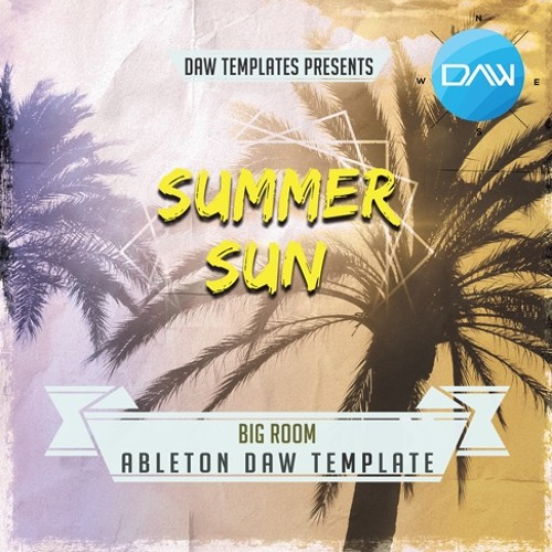 Summer Sun Ableton Template