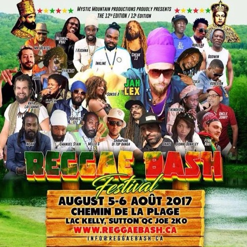 Reggae Bash 2017 - Sutton, Qc