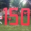 Kingston's Backyard Canada 150 Sign