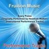 Every Praise (Medium Key) [Originally Performed by Hezekiah Walker] [Instrumental Track]