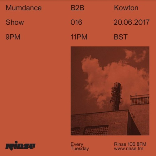 Mumdance B2B Kowton - 20th June 2017