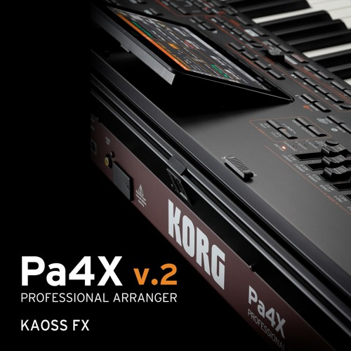 Pa4X v.2 Demo Songs - KAOSS FX