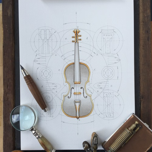 The Joshua Bell Violin
