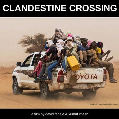 CLANDESTINE CROSSING - Interview on Talk Radio Europe with Pippa Jones. 17/11/2016