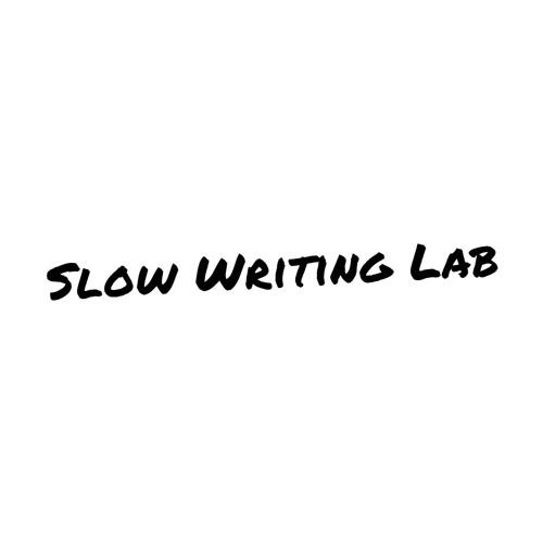 Podcast Slow Writing Lab: Charlien Adriaenssens en Koen Frijns