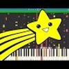 IMPOSSIBLE REMIX - Shooting Stars Meme - Piano Cover - Bag Raiders by npt music
