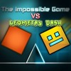 The Impossible Game VS Geometry Dash - Lyrical War