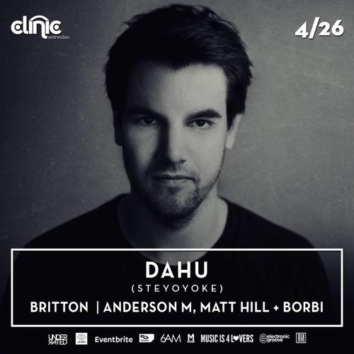 Anderson M, Matt Hill & Borbi - Live @ Clinic Wednesdays, Los Angeles (04.26.17)