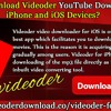 How To Download Videoder YouTube Downloader For IPhone And IOS Devices