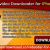Videoder Video Downloader For IPhone And IOS