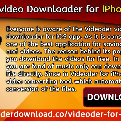 Videoder Video Downloader For IPhone And IOS by bridgetperry