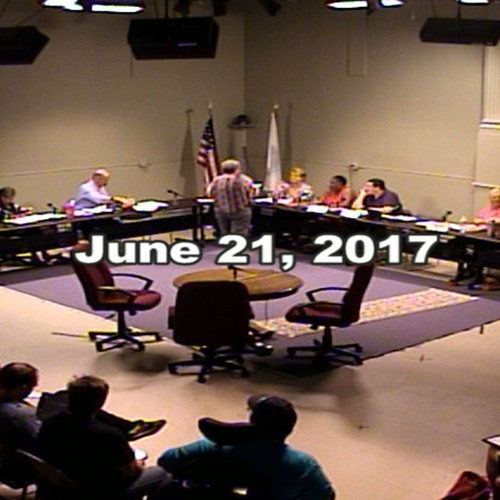 Greenfield MA Town Council Meeting June 21, 2017