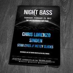 Chris Lorenzo live @ Night Bass (February 23, 2017)