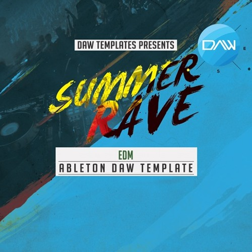 Summer Rave Ableton Template