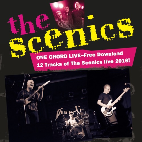 ONE CHORD LIVE- The Scenics live 2016