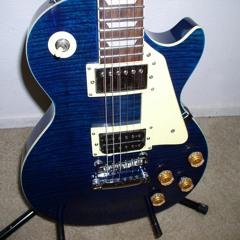 Blue Davidson Les Paul Demo