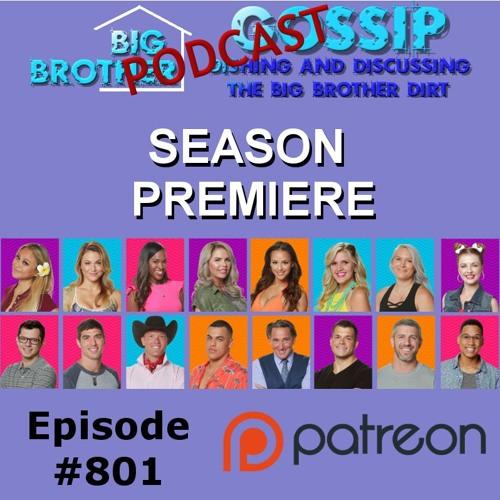 Big Brother Gossip #801