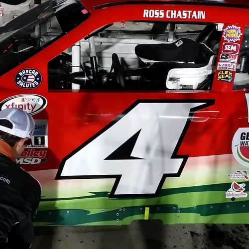 Chastain P4 in E15 250 at Iowa Speedway