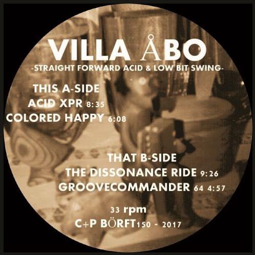 VILLA ABO - Straight Forward Acid And Low Bit Swing (Börft 150 - 2017)