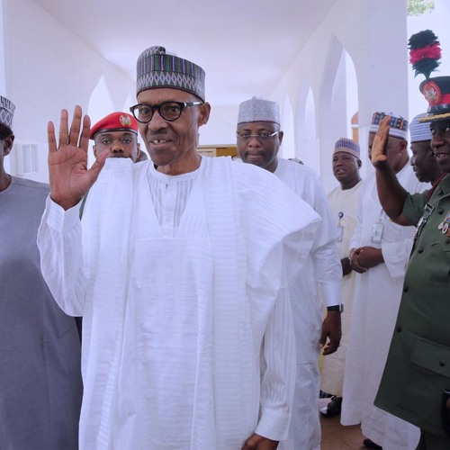 Buhari - Impaired Speech During Sallah Greetings