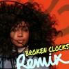SZA-Broken Clocks  (Remix by Jahreal )