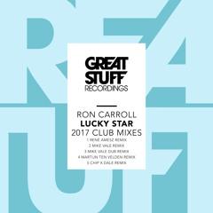 Ron Carroll - Lucky Star (Martijn Ten Velden Remix)