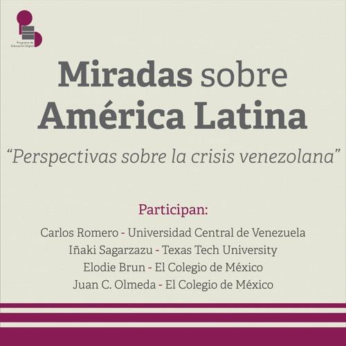 "Miradas sobre América Latina: ""Perspectivas sobre la crisis venezolana"""