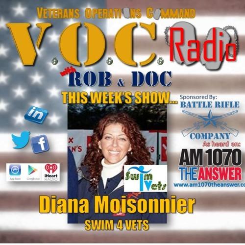 VOC Radio June 25 2017 Diana Moisonnier